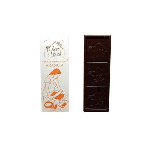 Cioccolato Arancia 50 gr - 10 Pz