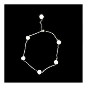 Girocollo collana bianco perle cerate