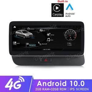 ANDROID navigatore per Audi Q5 2009-2017 MMI 3G 10.25 pollici 2GB RAM 32GB ROM Octa-Core Car Play Android Auto Bluetooth GPS WI-FI