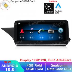 ANDROID navigatore per Mercedes Classe E W212 E200 E230 E260 E300 S212 2015 NTG 5.0 10.25 pollici 4GB RAM 64GB ROM Octa-Core Car Play Android Auto Bluetooth GPS WI-FI