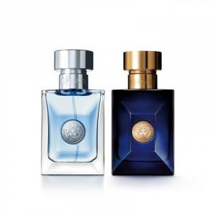 Versace Dylan Blue Man + Pour Homme Eau De Toilette Spray 30ml Set 2 Pieces