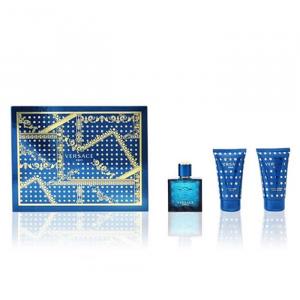 Versace Eros Eau De Toilette Spray 50ml Set 3 Parti 2020