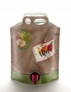 Succo di mela Bio da spremitura soffice 3000 ml. 3 L