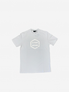 T-Shirt Dolly Noire White & Chromo