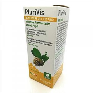Plurivis Benessere del Respiro Integratore Alimentare Liquido a Base di Propoli 150 ml Aroma Balsamico