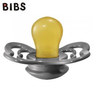 Ciuccio Bibs Supreme - IRON - Gomma Naturale - Privo di BPA PVC e Ftalati - Made in Denmark