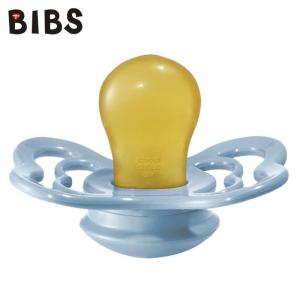 Ciuccio Bibs Supreme - BABY BLUE - Gomma Naturale - Privo di BPA PVC e Ftalati - Made in Denmark