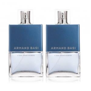 Armand Bassi L'Eau Pour Homme Eau De Toilette Spray 2x75ml
