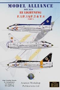 BAC/EE Lightning F.1/F.1A/F.2 and T.4 Part 5 [F.2A/F.2A/F.3/F.6]