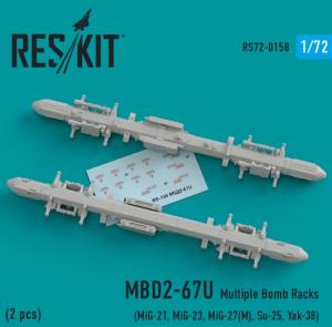 MBD2-67U Multiple Bomb Racks