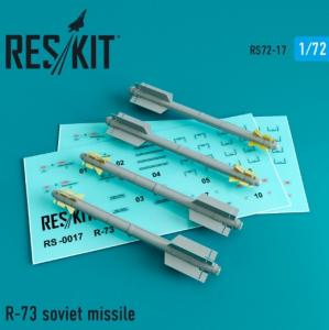 R-73 soviet missile