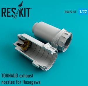 TORNADO exhaust nozzles