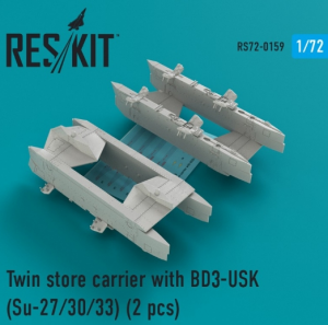 Twin store carrier