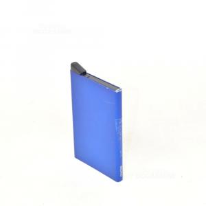 Holder Cards Light Blue Aluminum Blue Secrid