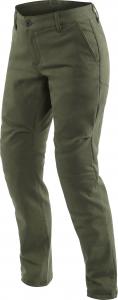 Pantaloni moto donna Dainese Chinos Lady Verde Oliva