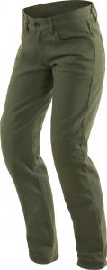 Pantaloni moto donna Dainese Casual Slim Lady Verde Oliva