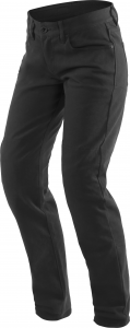 Pantaloni moto donna Dainese Casual Regular Lady Nero