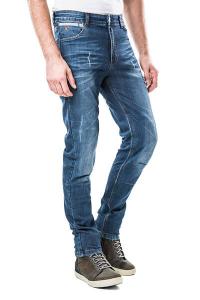 Jeans moto Motto ROMA LONG con rinforzi in fibra aramidica Blu scuro