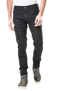 Jeans moto Motto MILANO con rinforzi in fibra aramidica Nero