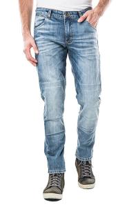 Jeans moto Motto ITALIA LONG con rinforzi in fibra aramidica Blu chiaro