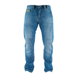 Jeans moto Motto CITY NT LONG con rinforzi in fibra aramidica Blu