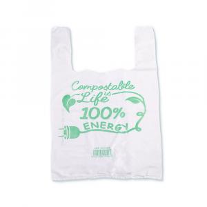 Shopper compostabili 27x50 cm medie