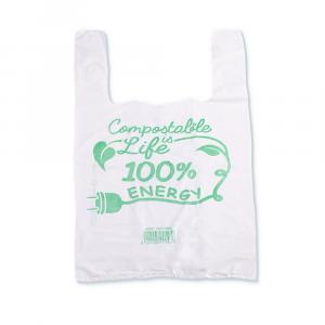 Shopper compostabili 30x60 cm grandi