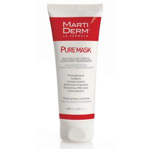 Martiderm Pure-Maschera Pufifying Viso Maschera Olio y Acne-Incline Pelle 75ml Unisex