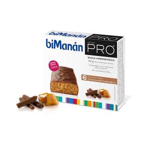Bimanán Bimanàn Befit Chocolate y Caramel Bar 6 Unità