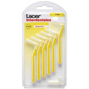 Lacer Interdentale Lacca Fine Angolare 6 Piezas