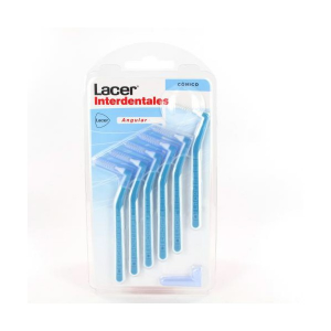 Lacer Interdental Angular Cylindrical Conical Brush 6 Units
