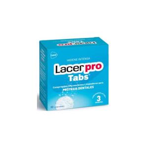 Protabs Lacer Compresse Per La Pulizia Delle Protesi Dentali 32uds