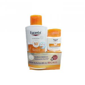 Eucerin Sensitive Protect Kids Sun Lotion Extra Llght Spf50 400ml