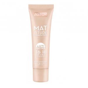 Astor Mattitude Foundation Anti Shine Base De Maquillaje 203 Peachy