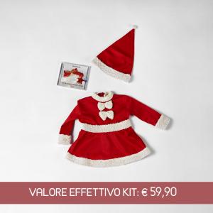 Tutina Babbo Natale neonata
