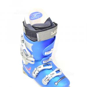 Ski Boot Light Blue Lange 130 World Cup 317mm Size 9