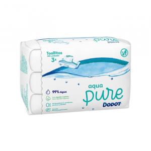 Dodot Aqua Pure Wipes 3x48 Units