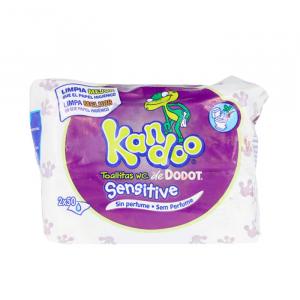 Kandoo Salviette Detergenti Sensibili 100 Unità