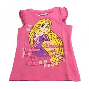 Maglietta Rapunzel principessa 2 anni manica corta