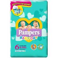 PANNOLINI BABY DRY TG 6  15-30Kg
