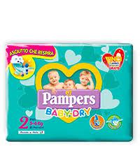 PANNOLINI BABY DRY TG 2  3-6kg