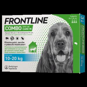 FRONTLINE COMBO SPOT ON  CANI 10-20 Kg.