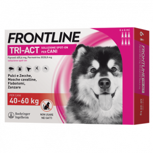 FRONTLINE TRI-ACT SPOT-ON 40-60kg    3 x 6ml