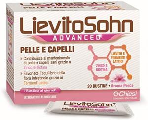 Lievito Sohn Advanced Integratore Aroma Pesca 30 Bustine
