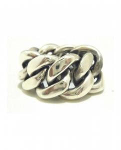 Anello catena in argento