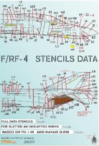 F/RF STENCIL DATA BLACK