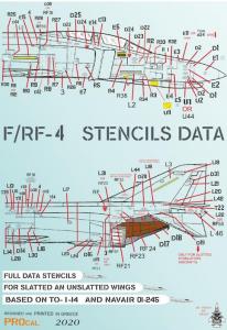 F/RF STENCIL DATA WHITE