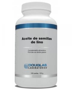 Douglas Aceite De Semillas De Lino 100 Perlas