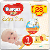 EXTRA CARE 1 BASE 2-5kg x28pz