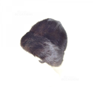Hat In True Pelliccia Of Visone